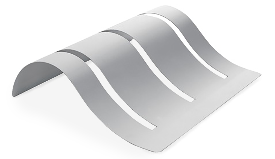 Bi.wave portabiciclette in acciaio